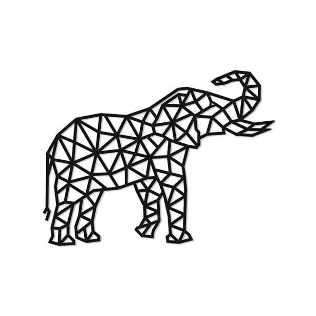 Puzzle 3D decorativ ELEPHANT din lemn 364 piese @ EWA