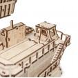 Set constructie cu mecanism Puzzle 3D BELAZ 75710 din lemn 453 piese @ EWA