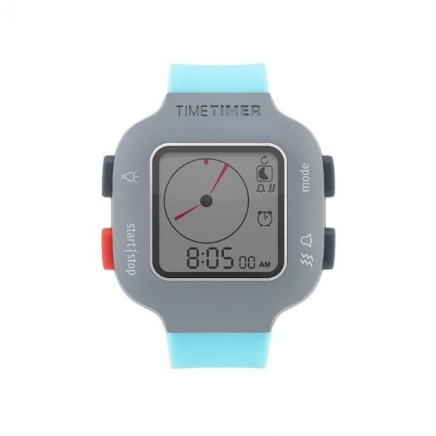 Ceas temporizator de mana Time Timer Watch Plus Youth, turquoise, Robo
