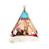 Set constructie cort pentagonal Tee-Pee, indian, Pony