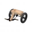 Kit transformare tricicleta cu pedale si cosulet, leg&go