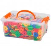 Fulgi de nea mici  Vinco - set de 1000 piese multicolor