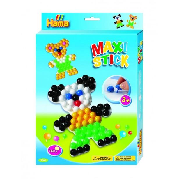 Planseta URSULET cu 140 tepuse ciuperci MAXI STICKS in cutie de cadou