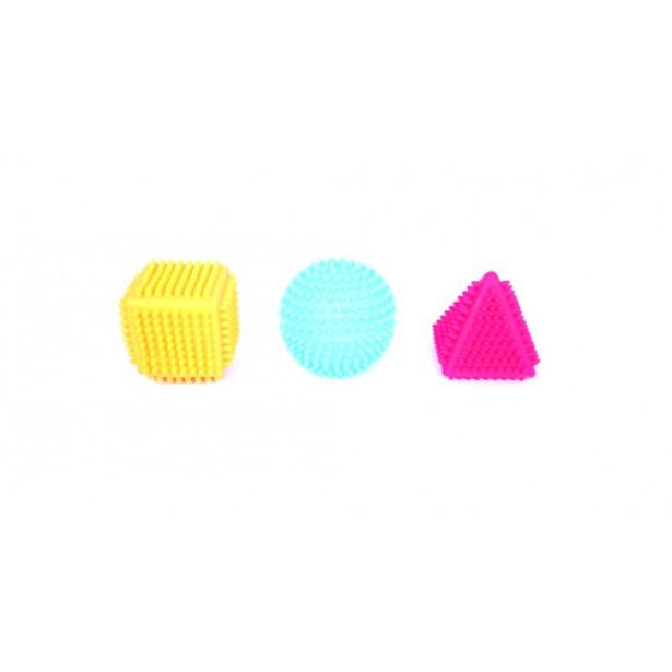 Set de 3 forme geometrice senzoriale Commotion