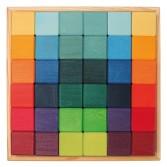 Set 36 cuburi de construit colorate de la Grimm's