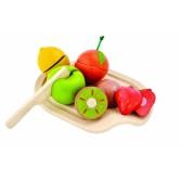 Joc de rol - Set cu 5 fructe asortate Plan Toys
