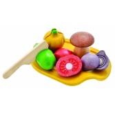 Joc de rol - Set cu 5 legume asortate Plan Toys