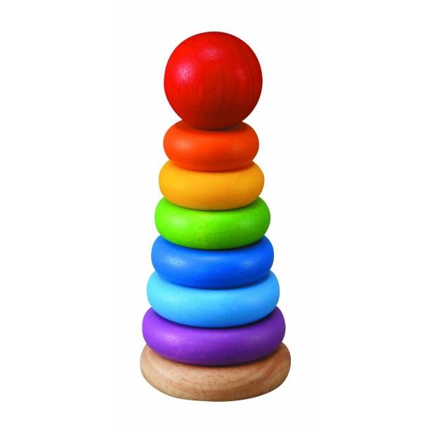 Turnulet pentru sortat - culori si marimi Plan Toys