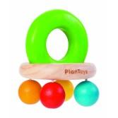 Zornaitoare cu 4 bilute colorate Plan Toys