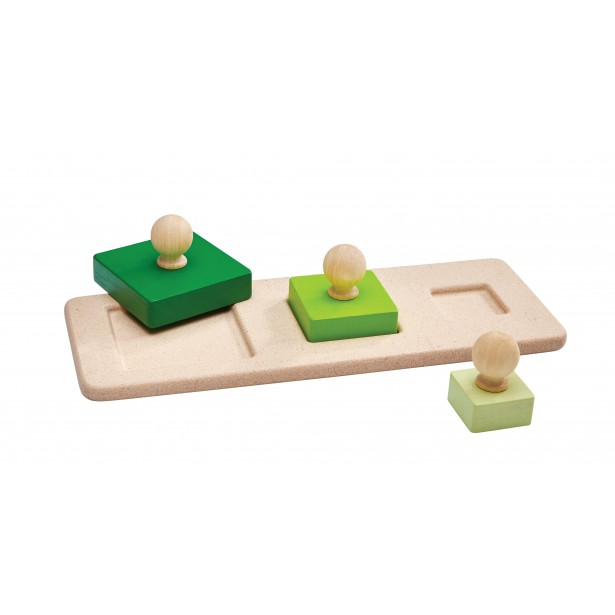Puzzle cu patrate Plan Toys