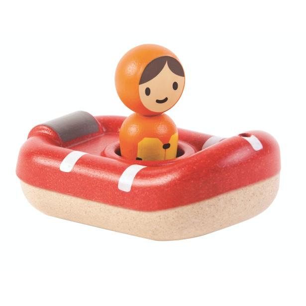 Jucarie pentru apa din lemn - Paza de coasta - Plan Toys