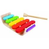 Instrument muzical Plan Toys - 5 note diferite - Xilofon oval
