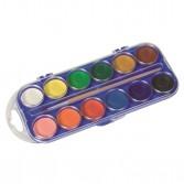 Acuarela 12 culori