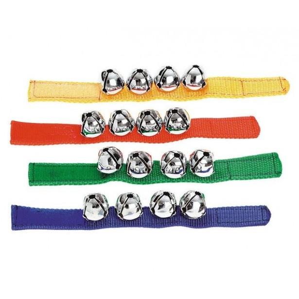 Clopotel de incheietura - bratara cu 4 clopotele