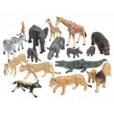 Animale realistice din savana africana – 18 piese