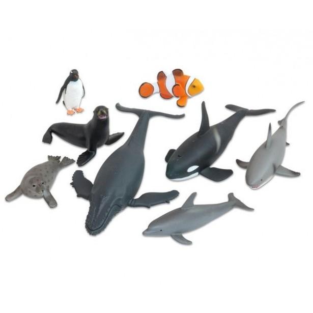 Animale realistice din ocean - 8 piese