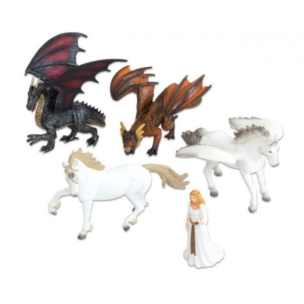 Animale Fantastice realistice - 5 piese