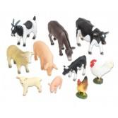 Animale de ferma realistice - 10 piese