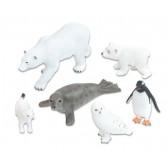 Animale arctice realistice - 6 piese