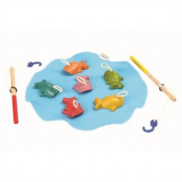 Joc de-a pescuitul Plan Toys